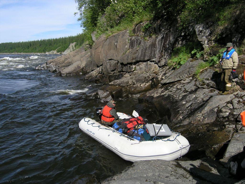 рыбалка на севере края